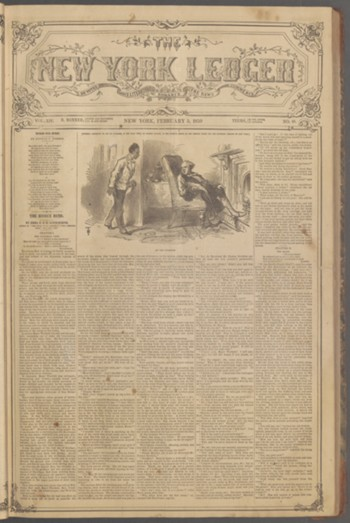 The New York ledger ; vol. 14, no. 48