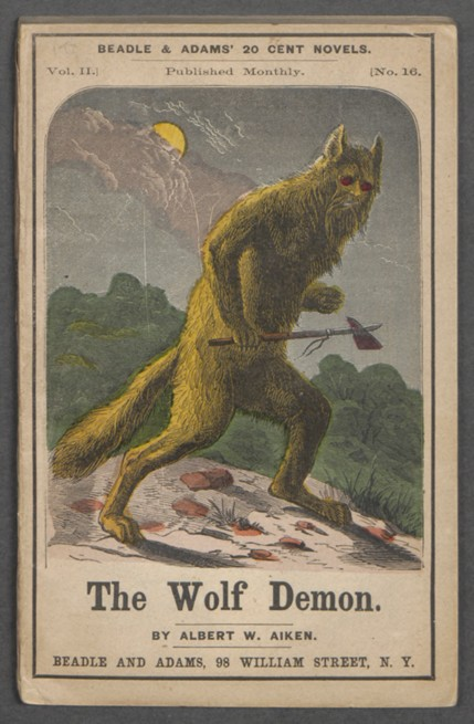 Wolf Demon Color Cover