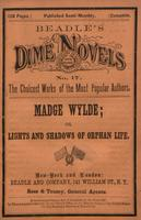 Madge Wylde, the young man's ward, or, Lights and shadows of orphan life