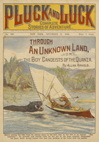 Through an unknown land, or, The boy canoeists of the Quanza