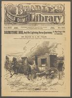 Brimstone Bob, and his lightning horse quartette, or, Major Bragg's ride to Tombstone