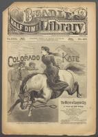 Colorado Kate, or, The mayor of Canyon City