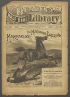 Marmaduke, the mustanger detective, or, The great mix-up at Crescent Butte