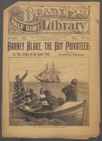 Barney Blake, the boy privateer, or, The cruise of the Queer Fish