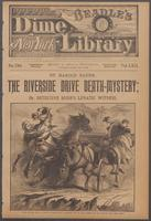 Riverside Drive death-mystery, or, Detective Burr's lunatic witness