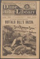 Buffalo Bill's dozen, or, Silk Ribbon Sam, the mad driver of the overland