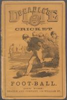 Beadle's dime book of cricket and football