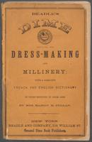Beadle's guide to dress-making and millinery