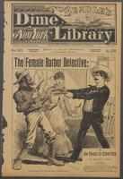 female barber detective, or, Joe Phenix in Silver City