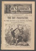 boy prospector, or, The secret of the Sierra ravine