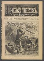 Carson, the guide, or, The perils of the frontier