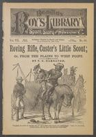 Roving Rifle, Custer's little scout, or, From the plains to West Point