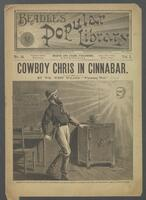Cowboy Chris in Cinnabar, or, The battle for the blue jeans