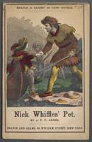 Nick Whiffles' pet, or, Ned Hazel, the boy trapper