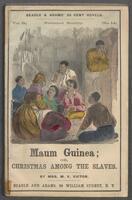 Maum Guinea, or, Christmas among the slaves