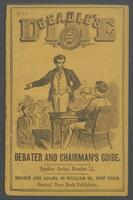 dime debater, and chairman's guide