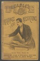Dime book of recitations and readings