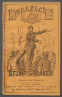 Beadle's dime stump speaker