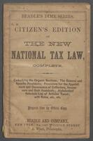 national tax-law, (complete:)