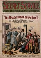 The Bradys in Mulberry Bend, or, The boy slaves of Little Italy