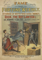 Dick, the boy lawyer, or, Winning a big fee