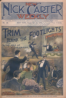 Trim behind the footlights, or, The hold-up at the casino