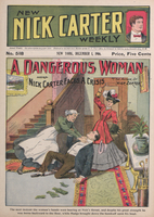 A dangerous woman, or, Nick Carter faces a crisis