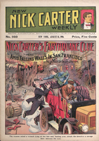 Nick Carter's earthquake clue, or, Amid falling walls in San Francisco