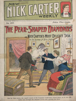 The pear-shaped diamonds, or, Nick Carter's most delicate task