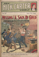 Missing! a sack of gold, or, Nick Carter and the express office mystery