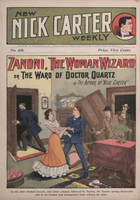 Zanoni, the woman wizard, or, The ward of Dr. Quartz