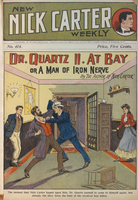Dr. Quartz II. at bay, or, A man of iron nerve