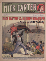 Nick Carter in the hidden chamber, or, The hunt for the lost millionaire