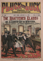 The shattered glass, or, A country boy in New York