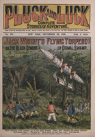 Jack Wright's flying torpedo, or, The black demons of dismal swamp