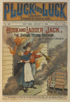 Hook and ladder Jack, the daring young fireman