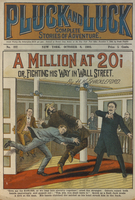 A million at 20, or, Fighting his way in Wall Street
