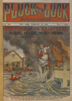 The pride of the volunteers, or, Burke Halliday, the boy fireman