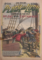 Afloat with Captain Kidd, or, A boy among the pirates