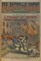 A fireman at sixteen, or, Through flame and smoke