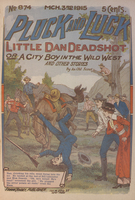 Little Dan Deadshot, or, A city boy in the wild West