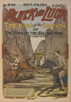 King of the canyon, or, The boys of the Bullion mine