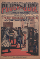 The boy messenger of Russia, or, The Czar's secret despatch bearer / by Allan Arnold