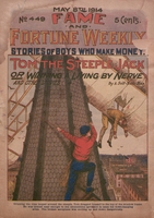 Tom the steeple jack, or, Winning a living by nerve