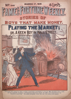Playing the market, or, A keen boy in Wall Street