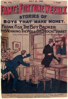 Frank Fisk, the boy broker, or, Working the Wall St. stock market