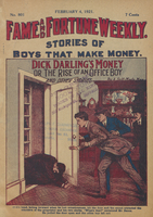 Dick Darling's money, or, The rise of an office boy