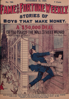 A $50,000 deal, or, Hal Hardy the Wall Street wizard
