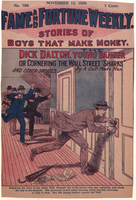 "Dick Dalton, young banker, or, Cornering the Wall Street ""sharks"""