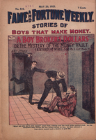 A boy broker's dollars, or, The mystery of the money vault